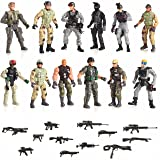 12 Piece Set Special Forces With Weapons 6