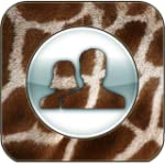 3D Giraffe Skin for Facebook
