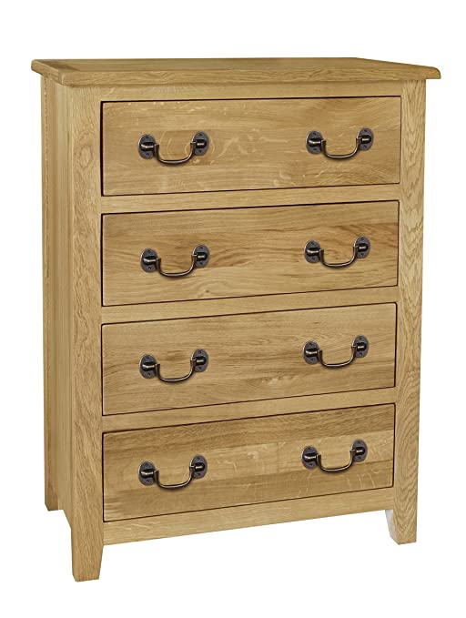 Cambridge Oak 4 Drawer Chest