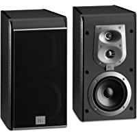 JBL ES Series ES20BK 3-Way Bookshelf Pair Speakers (Black)