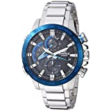 Casio Men's 'Edifice Connected' Quartz Stainless Steel Sport Watch, Color:Silver-Toned (Model: EQB-800DB-1ACF) (Color: Silver/Black)