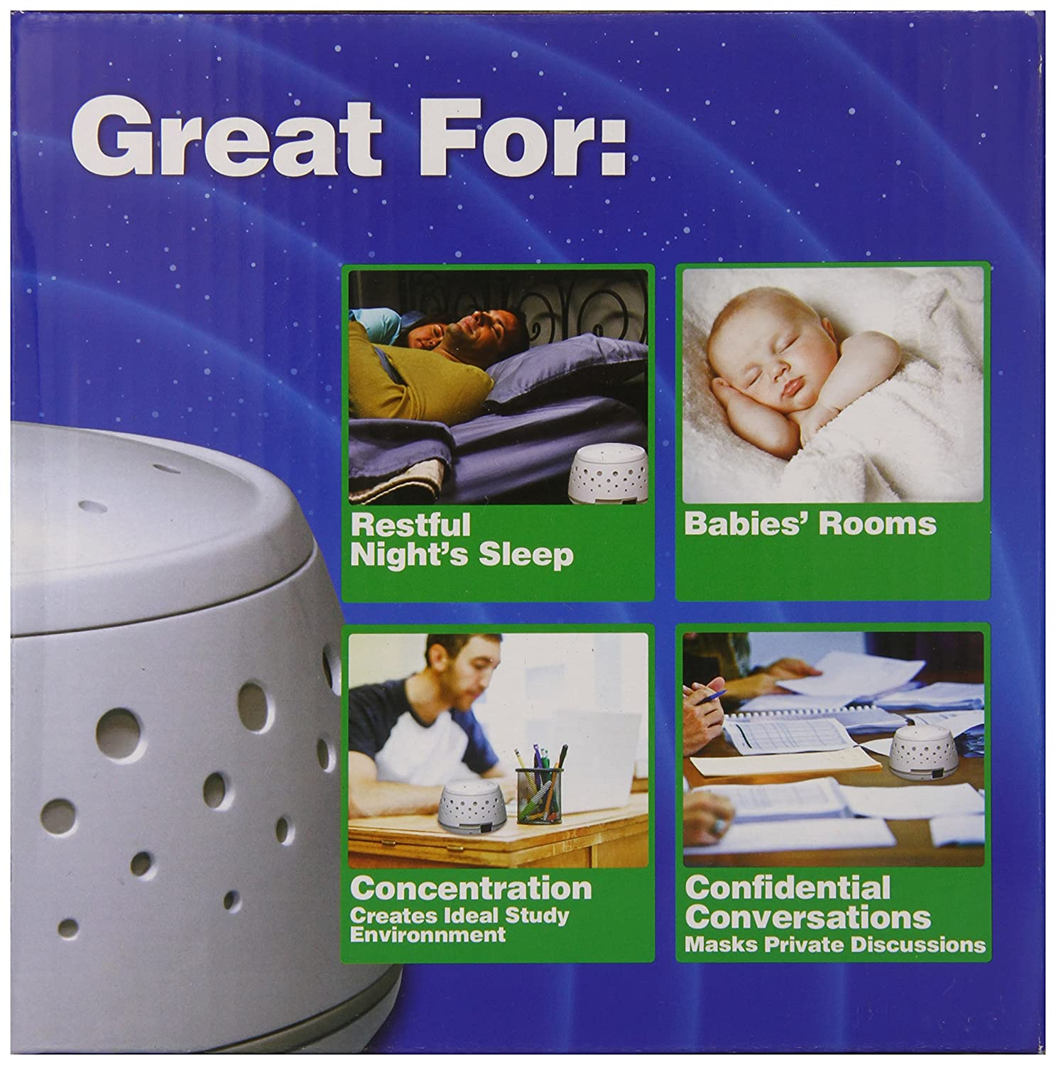 New sleep easy sound conditioner soothing white noise