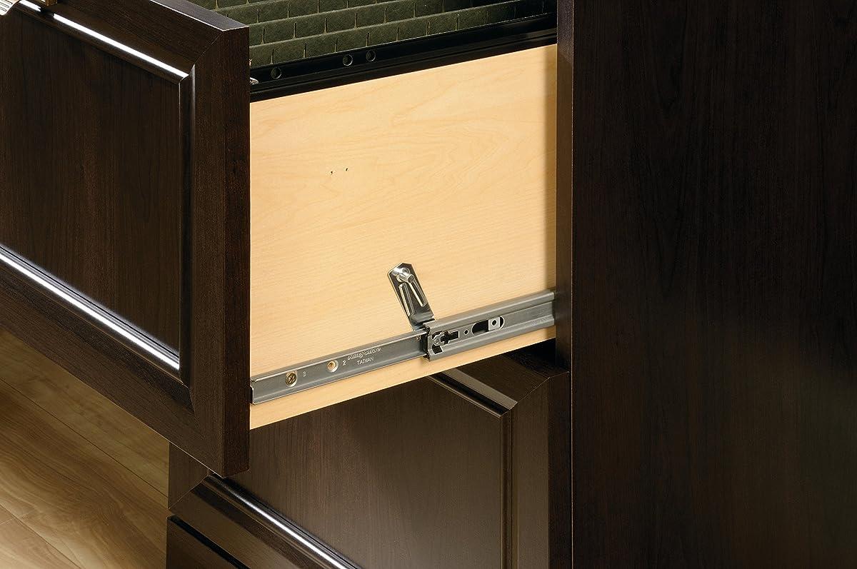 Sauder 415978 File Cabinet, Cinnamon Cherry