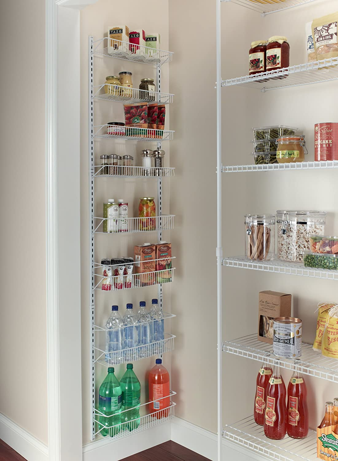 Kitchen Organizer Over The Door Storage Rack Basket Shelf Kitchen Organizer Wall
