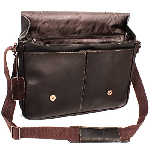 brow leather laptop bag 2016