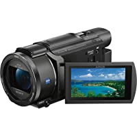 Sony FDR-AX53/B 4K Ultra HD Flash Memory Digital Handycam Camcorder with 20x Optical Zoom