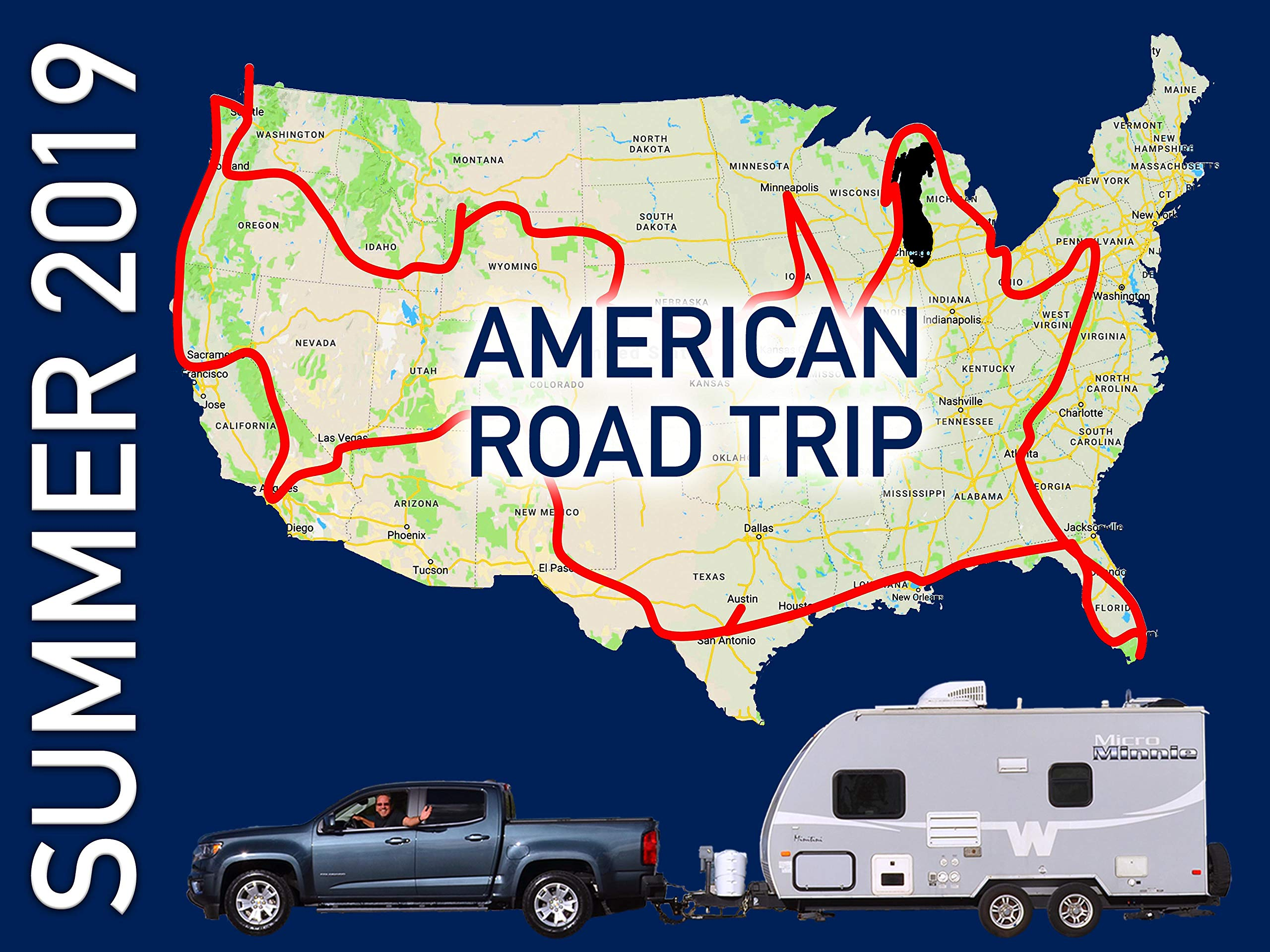 Summer 2019 American Road Trip on Amazon Prime Instant Video UK