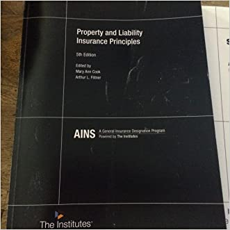 PROPERTY+LIABILITY INSURANCE PRINCIPLES