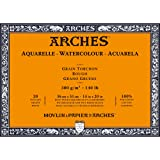Arches Watercolor Paper Block, Rough, 14