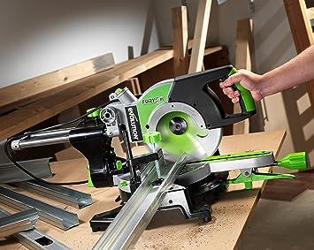 evolution fury3xl scie onglet onglet radiale 255 mm vert bricolage z78. Black Bedroom Furniture Sets. Home Design Ideas