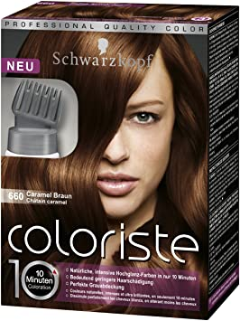 schwarzkopf coloriste hochglanz haarfarbe caramel braun. Black Bedroom Furniture Sets. Home Design Ideas