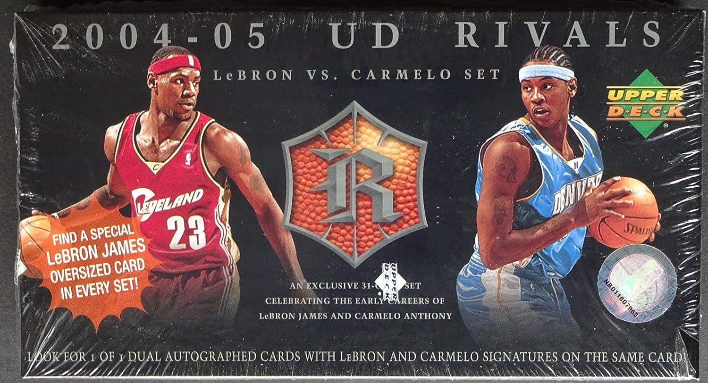 Upper Deck Rivals Lebron James vs. Carmelo Anthony Basketball Box Set 2004/05 günstig
