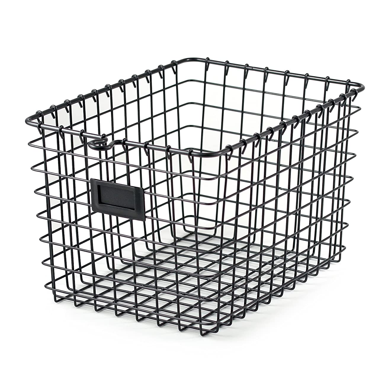 Spectrum Diversified Wire Storage Basket, Small, Industrial Gray 0