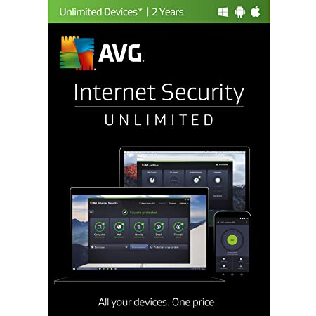 AVG Internet Security 2017 Unlimited 2 Years [Online Code]