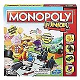 Hasbro Monopoly Junior Board Game, Ages 5 and up (Amazon Exclusive) (Tamaño: Original version)