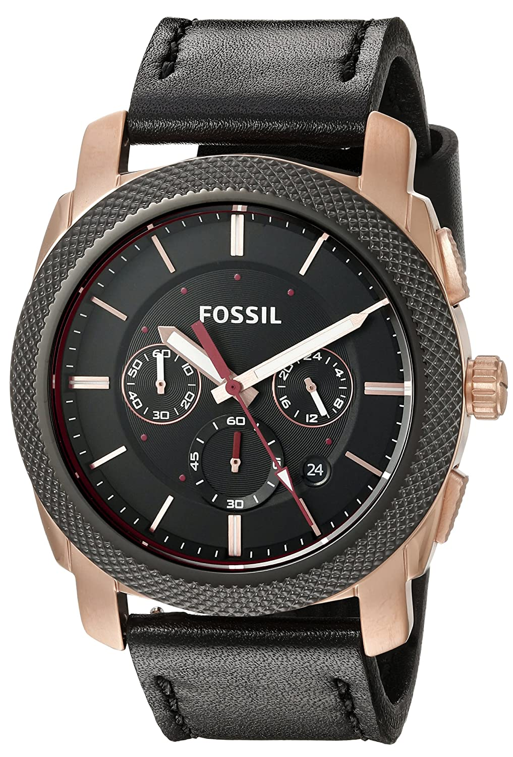 buy fossil end of season machine analog black dial men s watch buy fossil end of season machine analog black dial men s watch fs5120 online at low prices in amazon in