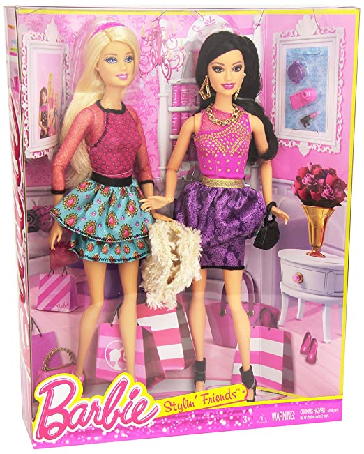 Mattel Barbie and Raquelle Doll 2-Pack -- Barbie Life in the Dreamhouse