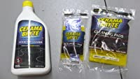 Cerama Bryte Ceramic Cooktop Cleaner (28 oz), Scraper and Cleaning Pads Combo Kit