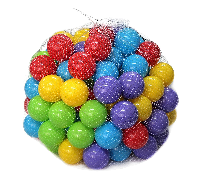Squishy Baby Ball : Plastic Ball Pit Fun Crush Proof Playpen 100pcs Soft Baby Kids Tent Swim Toys eBay