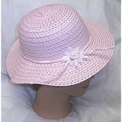Pink Easter Hat Girls Spring Hat