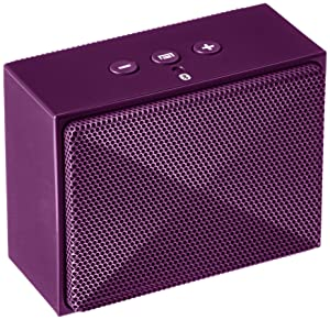 AmazonBasics - Minialtavoz portátil con Bluetooth - Púrpura - Electrónica - revisión y más información