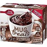 Betty Crocker Baking Mug Treats Triple Chocolate Cake Mix with Fudge Frosting, 12.5 oz(us)