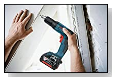 Bosch SGH182-101 18-Volt Brushless Drywall Screwdriver with Battery, Charger and Contractor Bag