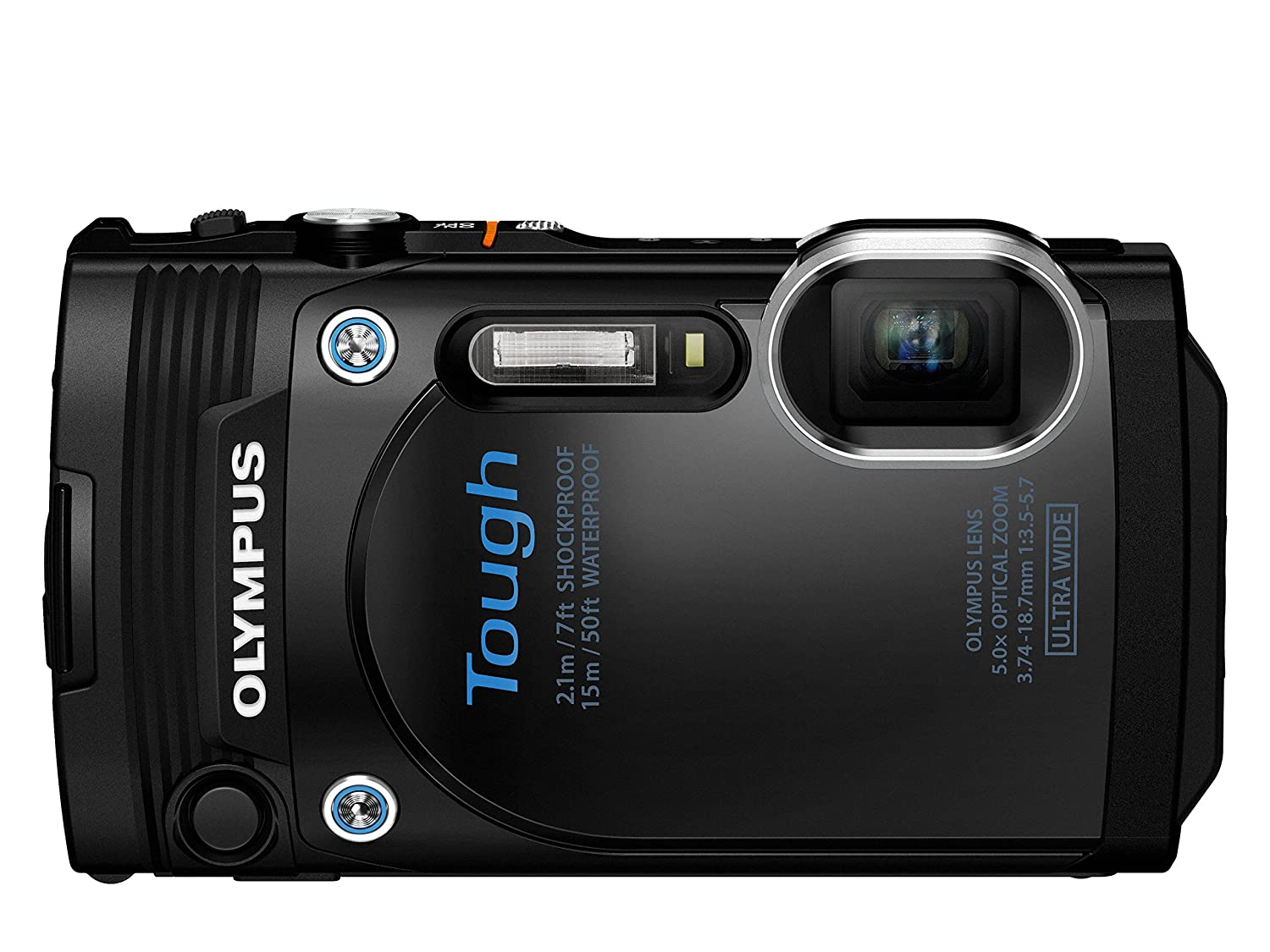 Digital Cameras OLYMPUS STYLUS TOUGH TG860 BLACK 16MPIXLES