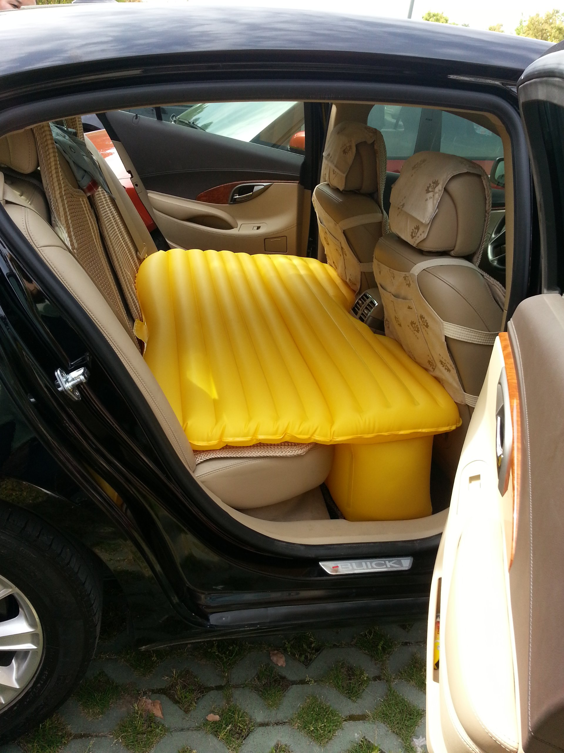 New Inflatable Travel Air Mattress Heavy Duty Back Seat