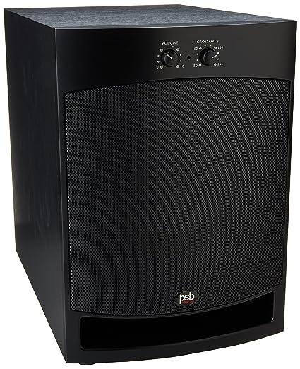 PSB Speakers SubSeries 125 Noir - Caisson de basses 125W