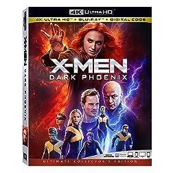 X-Men: Dark Phoenix [4K Ultra HD + Blu-ray]