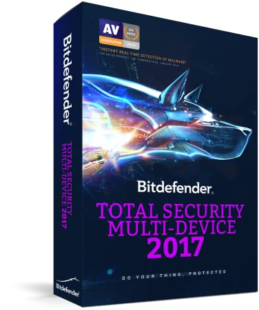 BITDEFENDER TOTAL SECURITY MULTIDEVICE 2017. 5 Devices / 1 Year [Online Code]