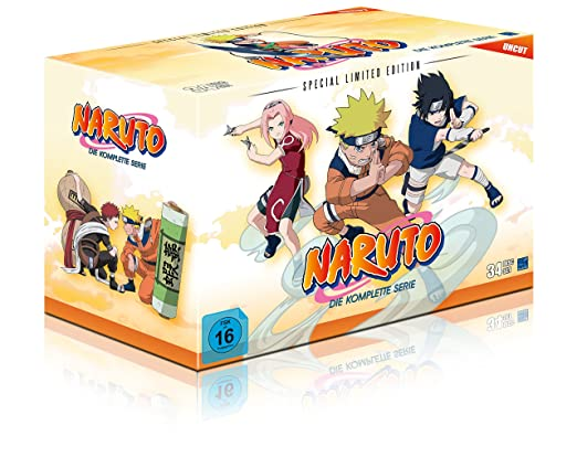 Naruto Gesamt-Box, DVD