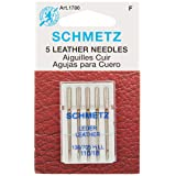 Schmetz Leather Machine Needle Size 18/110 (Color: Gray, Tamaño: 1 Pack)