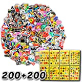 400-Pcs The Double-Satisfied Enhanced Version Of The Sticker, Doubled The Satisfaction. Lead Time Only 1-2 Days. Vinyl Stickers Are Suitable For Laptops, Cars, Motorcycles, Bicycles, Skateboards, And Luggage. (Double Reinforcement) (Tamaño: 400 Pcs/Pack ($1.1 Per 50 Pcs))