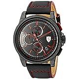 Ferrari Men's 0830273 Formula Italia S Analog Display Japanese Quartz Black Watch (Color: Black)
