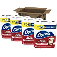 Charmin Ultra Strong Toilet Paper, Double Rolls, 48 Count