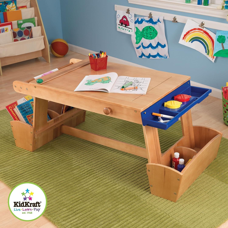 KidKraft Children's Art Table w/ Drying Rack & Storage