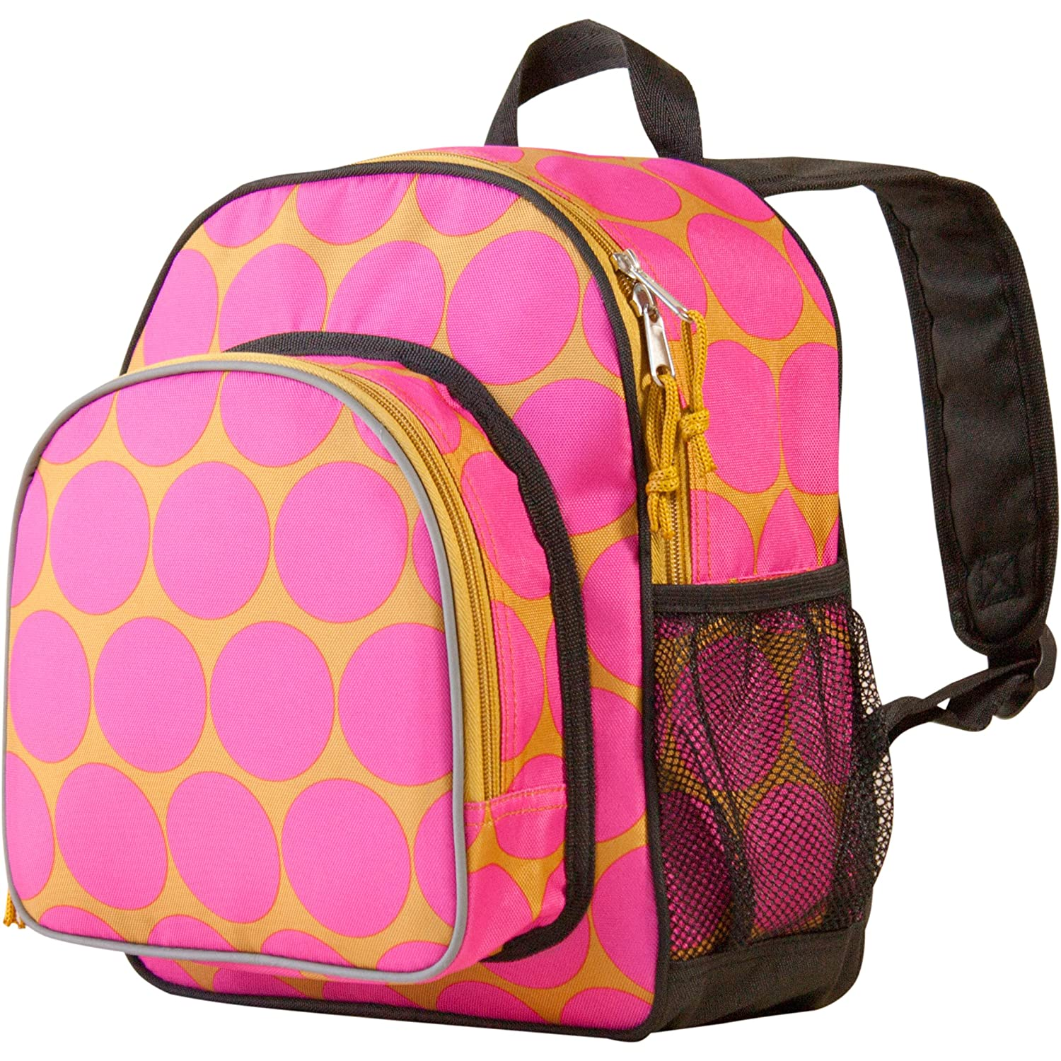 Wildkin Toddler Pack 'n Snack Backpack Pink Dots