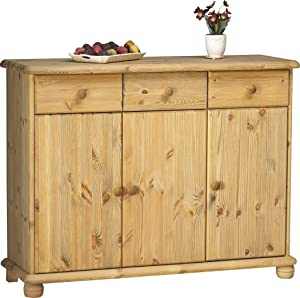 Steens Max 3 Door/3 Drawer Pine Sideboard       review and more information
