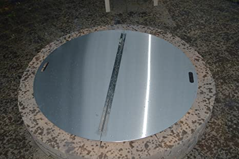 Fire Pit Covers Round 48 Round Steel Fire Pit Cover /