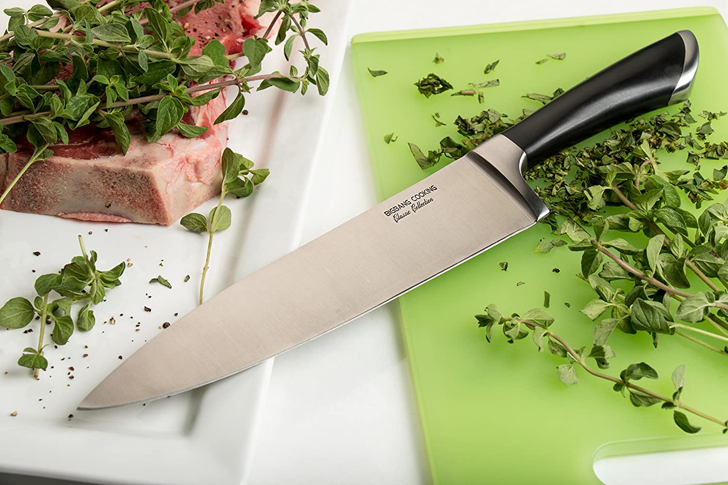 Big Bang Cooking Steel Chef Knife