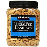 Kirkland Signature Kirkland Signature Unsalted Cashews, 2.5 Pound (Tamaño: 1 Pack)