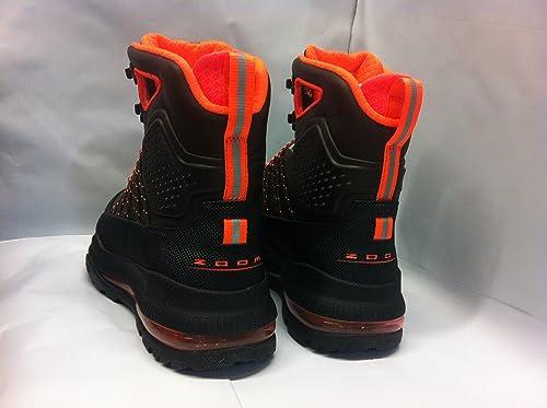 nike acg boots black and orange