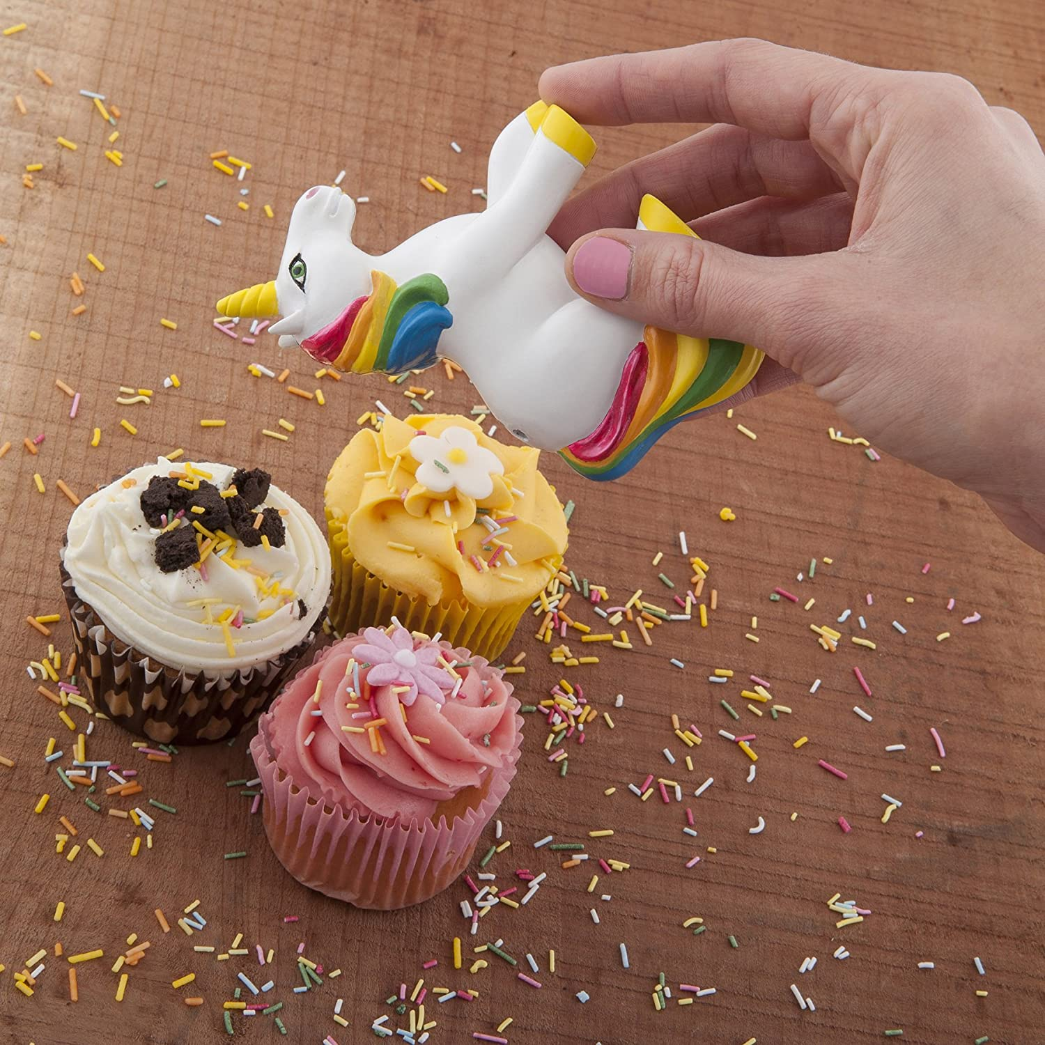 Unicorn Sprinkle Shaker - seriously, we all need one of these!