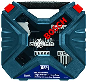 Bosch 65-Piece Drilling and Driving Mixed Set MS4065 (Tamaño: 65-Piece Set)