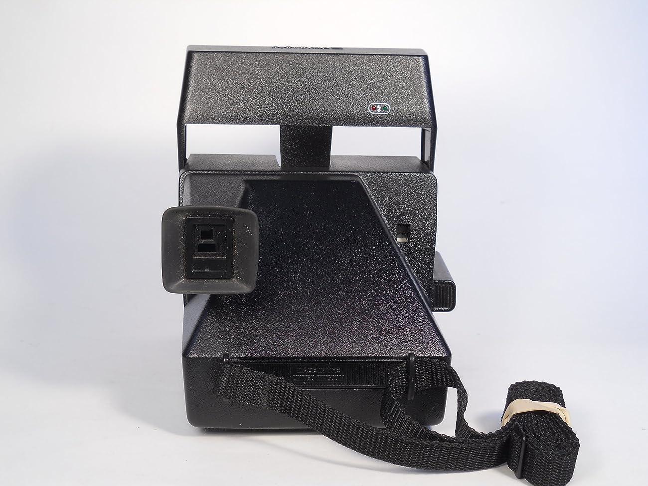 Polaroid Spirit 600 Vintage Instant Camera w/ Silver/Gray Front 5