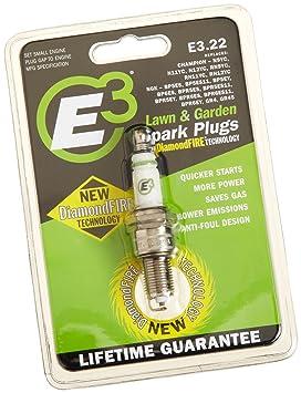 E3 Spark Plugs E3 22 Small Engine, Lawn and Garden Spark
