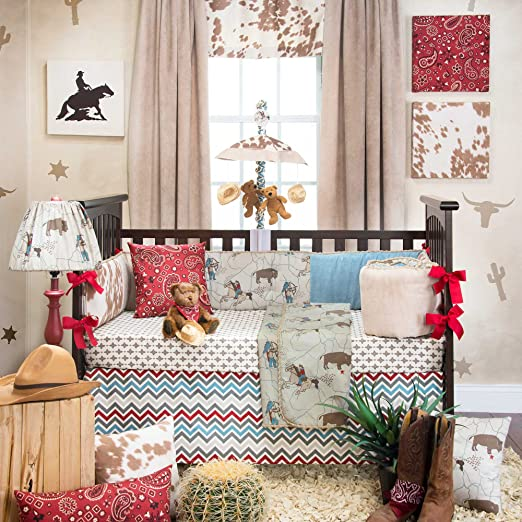 Glenna Jean Happy Trails Crib Bedding