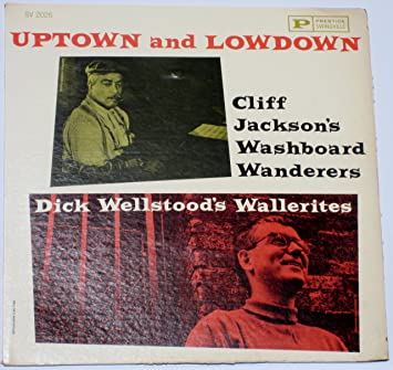 cliff jackson - uptown and lowdown 2026